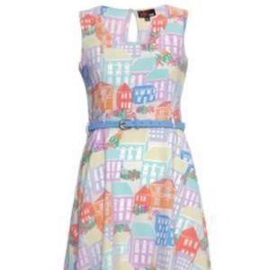 YUMI Pastel house dress